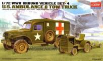 Academy 13403 Dodge AMB + Traktor US