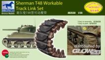 Academy AB3538 Ketten für Sherman T48