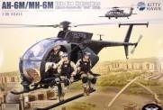 Academy KH50002 AH-6M/MH-6M Little Bird mit 4 Figuren!