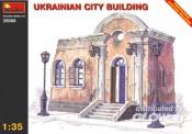 MiniArt 35006 Stadthaus Ukraine Ruine Halbrelief