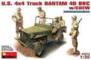 MiniArt 35014 US 4x4 Bantam 40 BRC w/crew