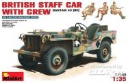 MiniArt 35050 British Bantam 40 BRC w/Crew
