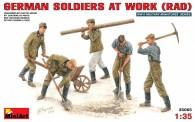 MiniArt 35065 Deutsche Soldaten bei der Arbeit
