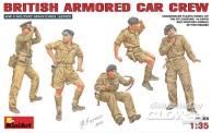 MiniArt 35069 Britische Panzerwagen-Crew