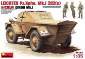 MiniArt 35082 Leichter PzKpfWg MKI 202 (e) DAK