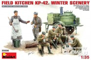 MiniArt 35098 Feldküche KP-42 Winter-Szene