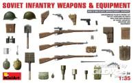 MiniArt 35102 Soviet Infantry Helme,Waffen,etc.