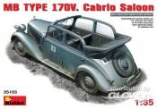 MiniArt 35103 MB Typ 170V. Cabrio Saloon