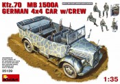 MiniArt 35139 Kfz.70 MB1500A German 4x4 Car