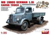 MiniArt 35142 MB L1500S. German 4x2 Cargo Truck