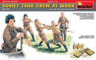 MiniArt 35153 Soviet Tank Crew at Work