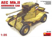 MiniArt 35155 AEC MK2 Armoured Car