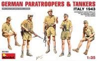 MiniArt 35163 German Paratroopers &Tankers Italy 1943