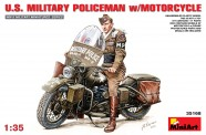 MiniArt 35168 U.S.Millitary Policeman with Motorcycle