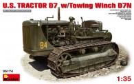 MiniArt 35174 U.S.Tractor D7 w/Towing Winch D7N