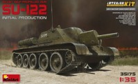 MiniArt 35175 SU-122 (Initial Production)w/Full Interi