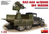 MiniArt 35177 GAZ-AAA s/Quad M-4 Maxim