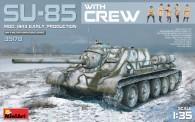 MiniArt 35178 SU-85 Mod.1943 (Early Produktion) w/Crew