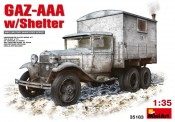 MiniArt 35183 GAZ-AAA with Shelter