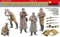 MiniArt 35185 Soviet Heavy Artillery Crew.Special Edit
