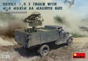 MiniArt 35186 Soviet 1,5t Truck w/M-4 Maxim AA