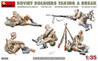 MiniArt 35233 Sowjetische Soldaten bei der Pause