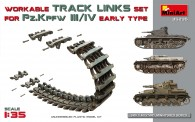 MiniArt 35235 Pz.Kpfw III/IV Workable Track Links Set