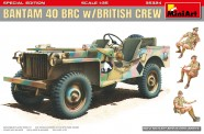 MiniArt 35324 Bantam 40 BRC w/british Crew