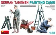 MiniArt 35327 German Tankmen - Painting Camo