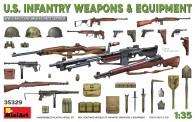 MiniArt 35329 U.S. Infantry Weapons & Equipment