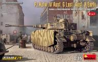 MiniArt 35333 Pz.Kpfw.IV Ausf. G Last/Ausf. H Early