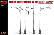 MiniArt 35523 Tram Supports&Street Lamps