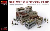 MiniArt 35571 Weinflaschen und Holzkisten