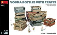 MiniArt 35577 Vodka Flaschen mit Holzkisten