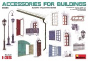 MiniArt 35585 Accessories for Buildings