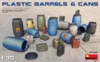 MiniArt 35590 Plastic Barrels & Cans