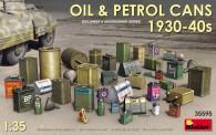 MiniArt 35595 Öl & Benzin Dosen 1930-40er