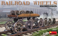 MiniArt 35607 Railroad Wheels