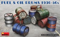 MiniArt 35613 Fuel & Oil Drums 1930-50