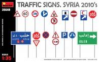 MiniArt 35648 Traffig Signs. Syria - Verkehrschilder