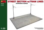 MiniArt 36040 Strassen mit Oberleitung