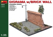 MiniArt 36055 Diorama with Brick Wall