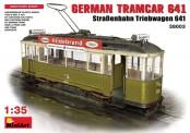 MiniArt 38003 Deutsche Straßenbahn Triebwagen 641