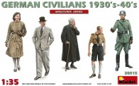 MiniArt 38015 German Civilians 1930-40s