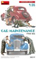 MiniArt 38019 Figuren Autopflege - Car Maintenance