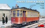 MiniArt 38020 Soviet Tram X-Serie Early Type