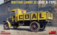MiniArt 38027 British Lorry 3t LGOC B-Type