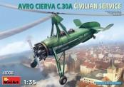 MiniArt 41006 Avro Cierva C.30A Civilian Service
