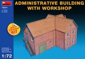 MiniArt 72021 Administrative Building & Workshop