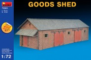 MiniArt 72023 Schuppen - Goods Shed